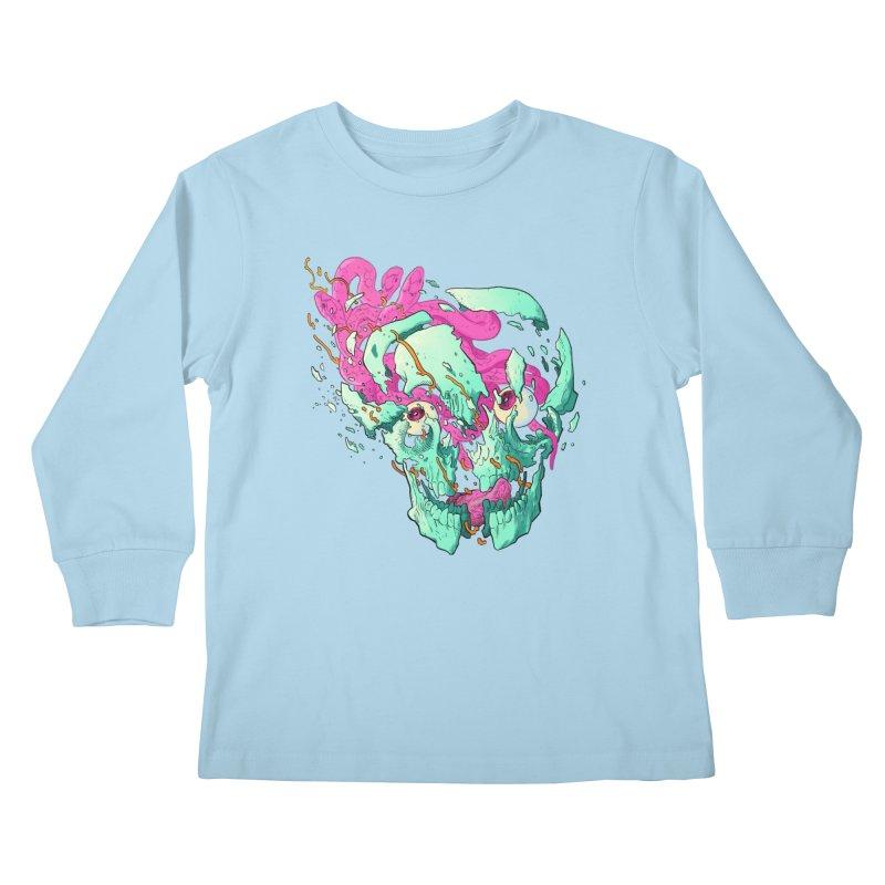 Killer Migraine Kids Longsleeve T-Shirt by Erica Fails at Merch
