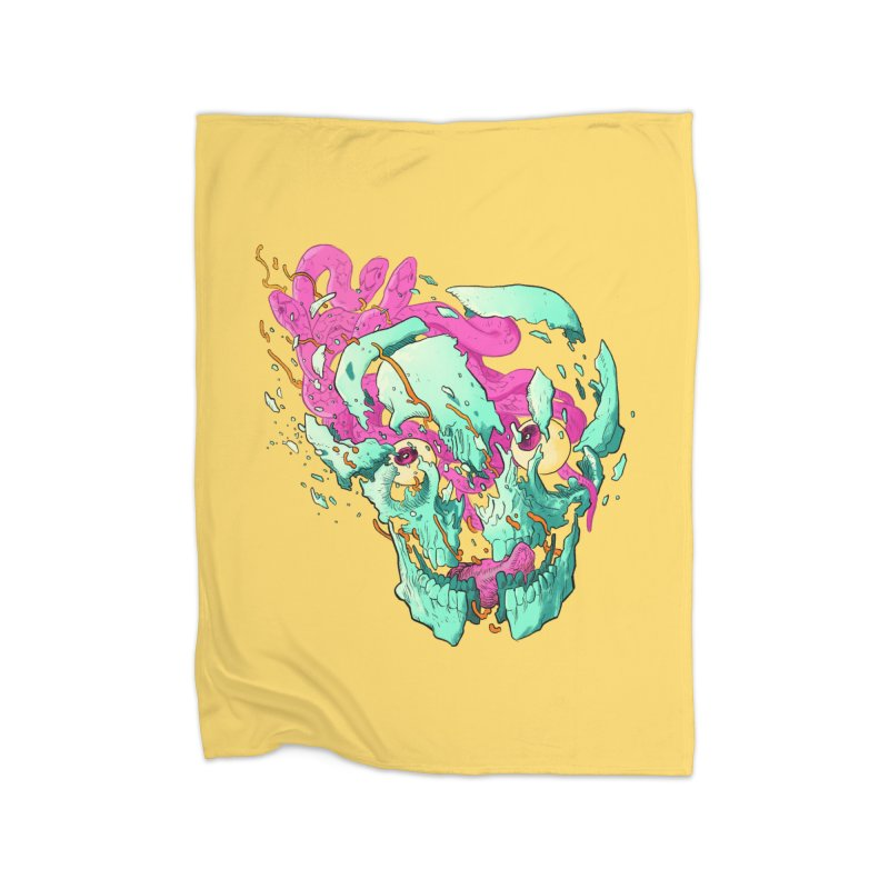 Killer Migraine Home Fleece Blanket Blanket by Erica Fails at Merch
