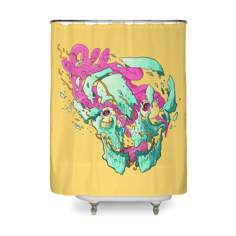 Killer Migraine Home Shower Curtain by Erica Fails at Merch