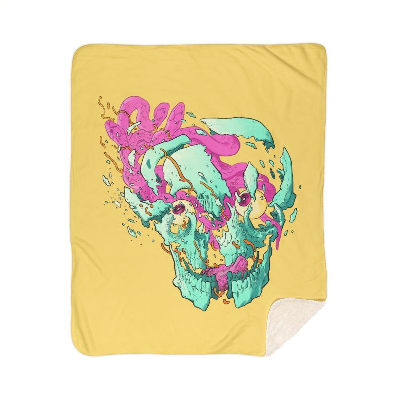 Killer Migraine Home Sherpa Blanket Blanket by Erica Fails at Merch