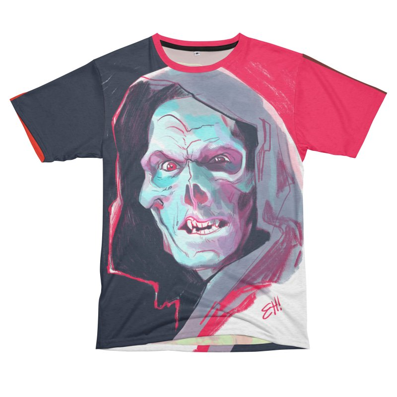 MASTERS OF THE UNIVERSE Women's Unisex French Terry T-Shirt Cut & Sew by Erica Fails at Merch