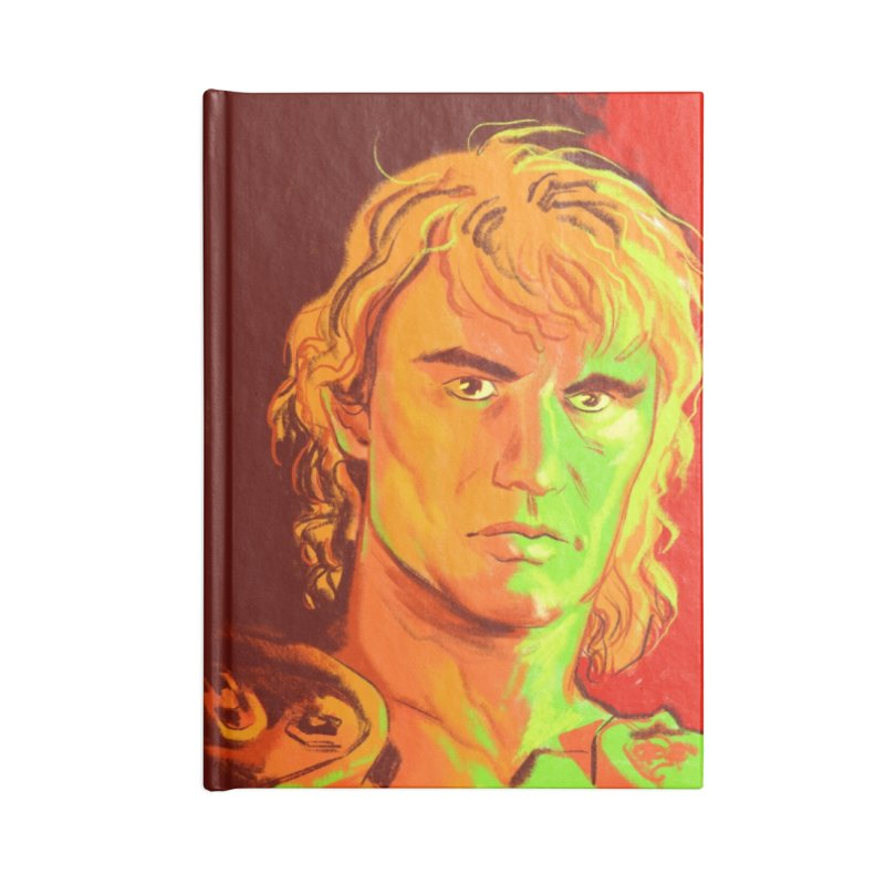MASTERS OF THE UNIVERSE Accessories Blank Journal Notebook by Erica Fails at Merch