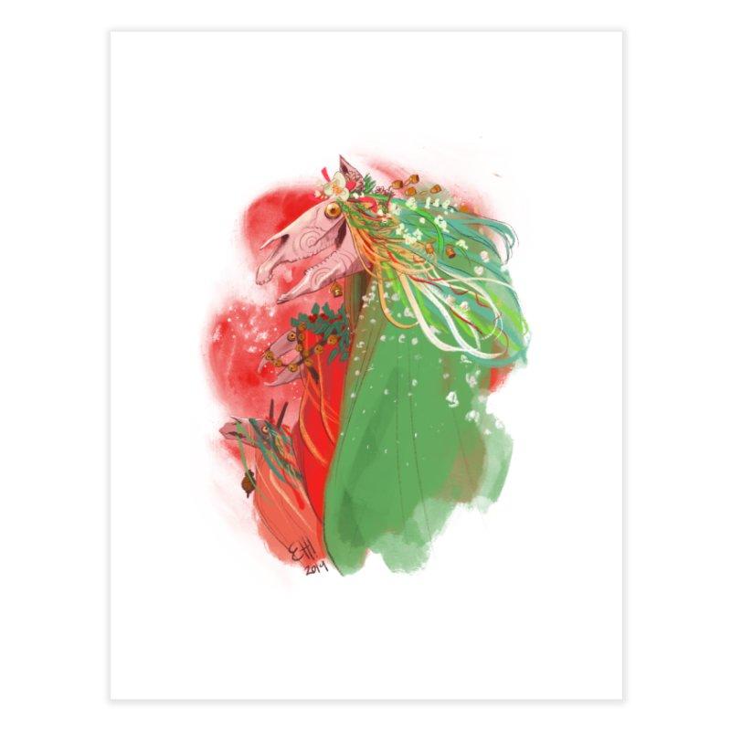 The Mari Lwyd Home Fine Art Print by Erica Fails at Merch