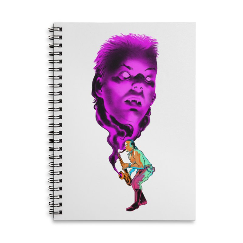 The Lost Boys Accessories Lined Spiral Notebook by Erica Fails at Merch