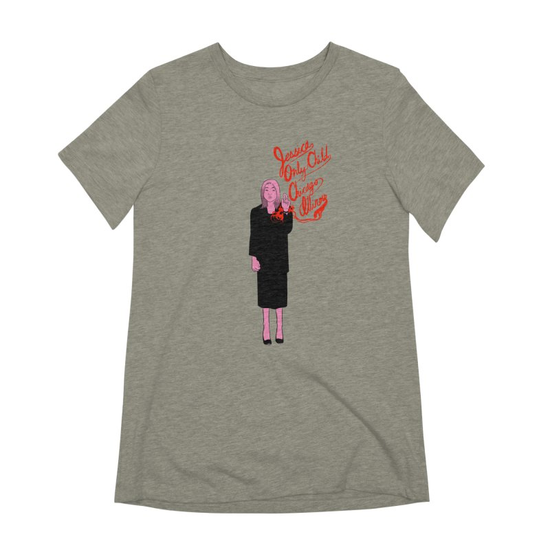 Jessica Only Child Women's Extra Soft T-Shirt by Erica Fails at Merch
