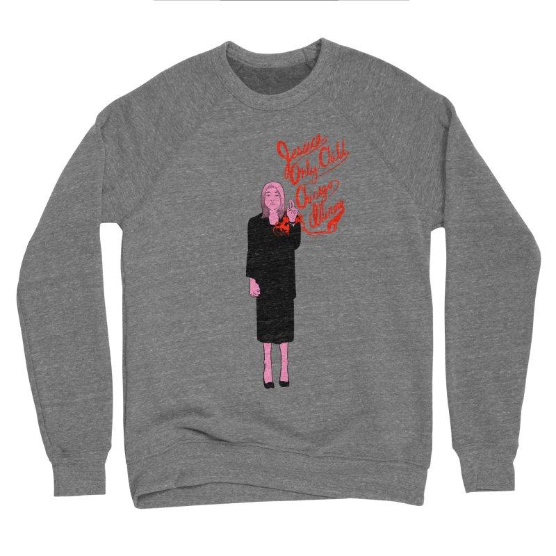 Jessica Only Child Men's Sponge Fleece Sweatshirt by Erica Fails at Merch