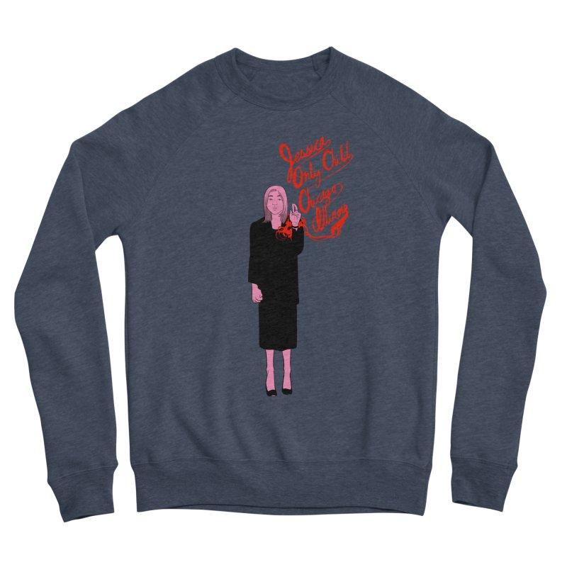 Jessica Only Child Women's Sponge Fleece Sweatshirt by Erica Fails at Merch