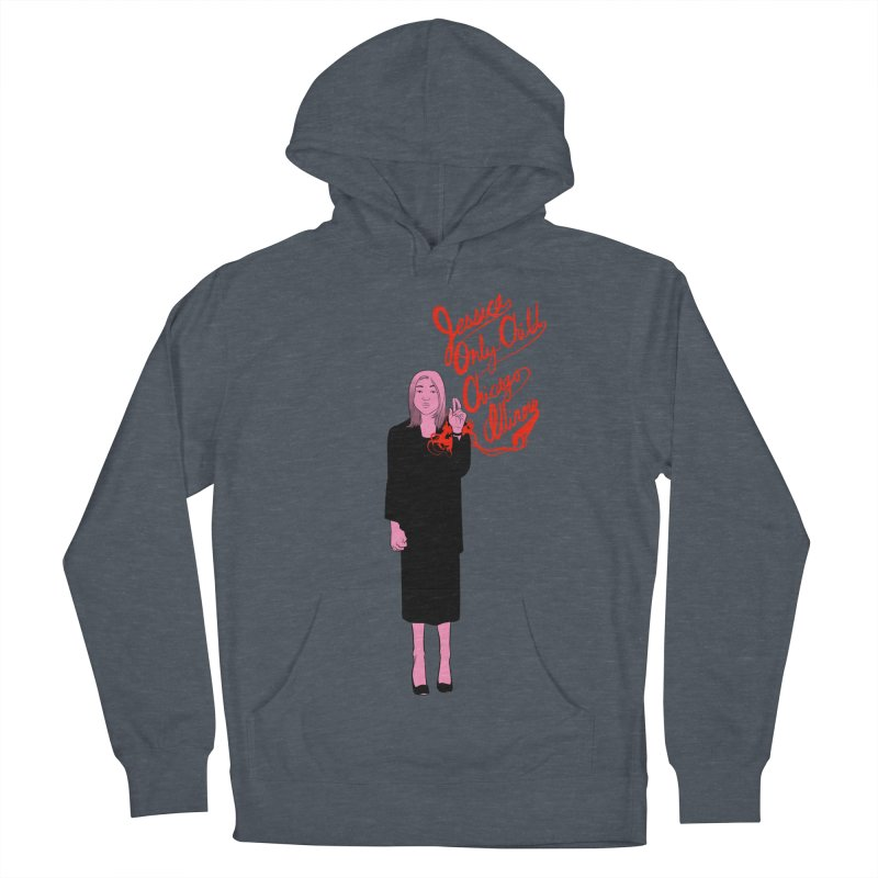 Jessica Only Child Men's French Terry Pullover Hoody by Erica Fails at Merch