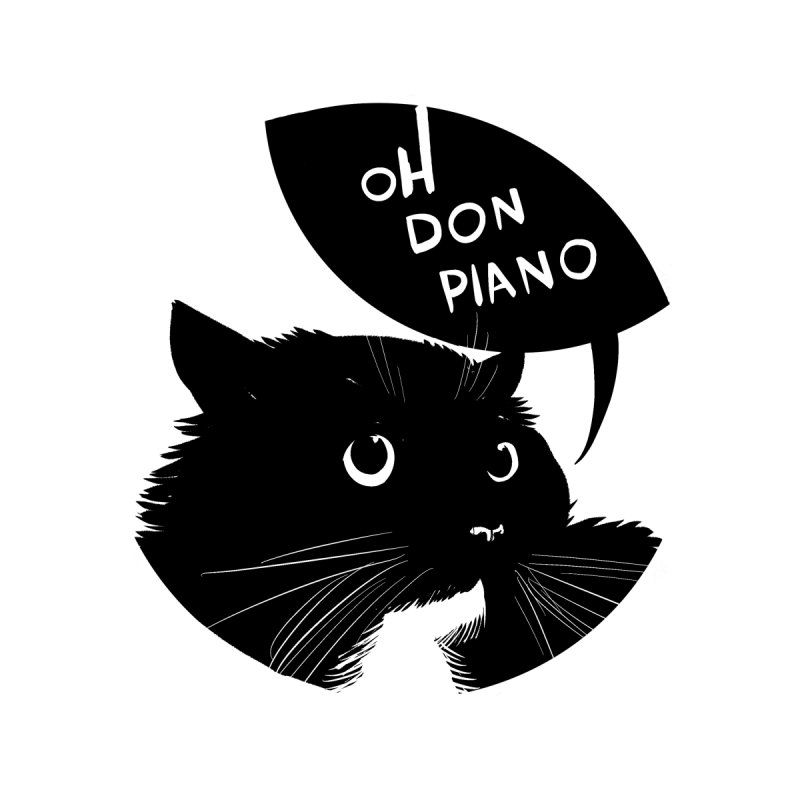Don Piano Accessories Sticker by Erica Fails at Merch