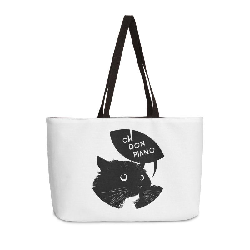 Don Piano Accessories Bag by Erica Fails at Merch