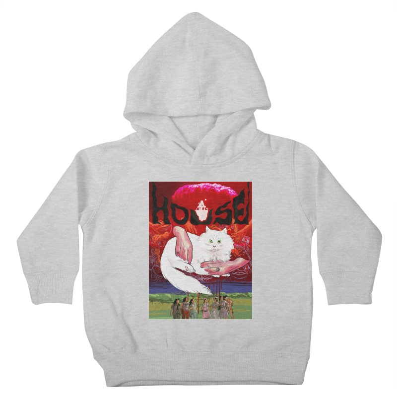 Hausu Kids Toddler Pullover Hoody by Erica Fails at Merch
