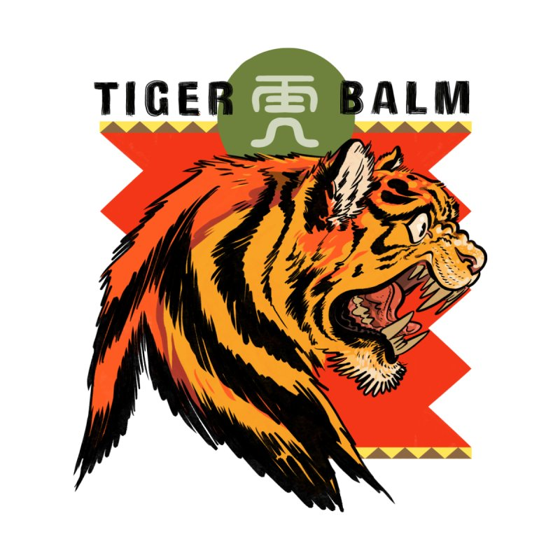 Tiger Balm Women's T-Shirt by Erica Fails at Merch