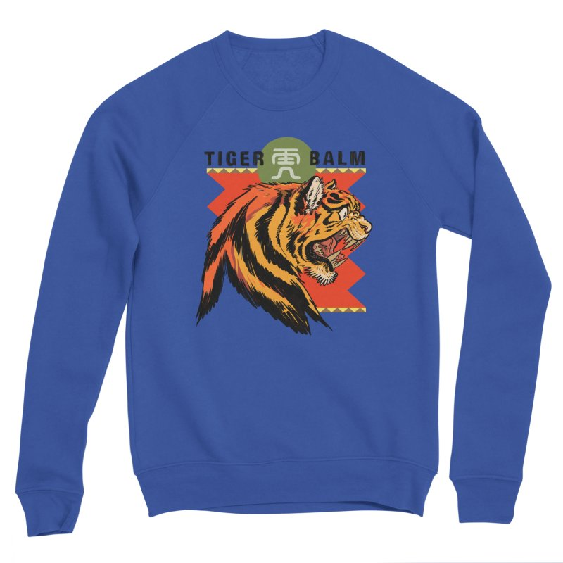 Tiger Balm Men's Sweatshirt by Erica Fails at Merch
