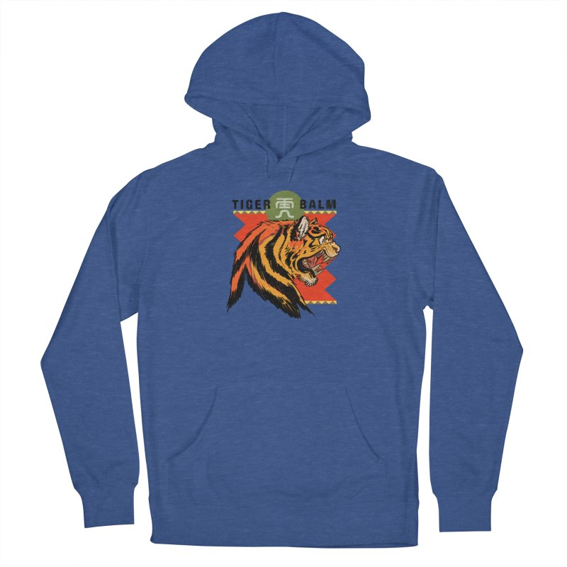 Tiger Balm Women's Pullover Hoody by Erica Fails at Merch
