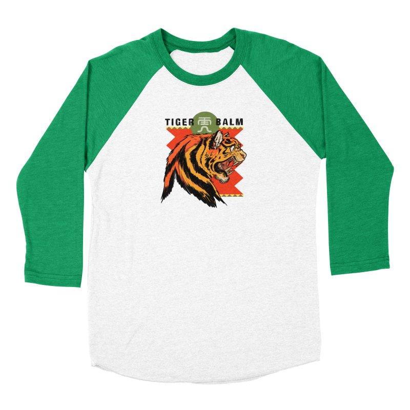 Tiger Balm Men's Longsleeve T-Shirt by Erica Fails at Merch