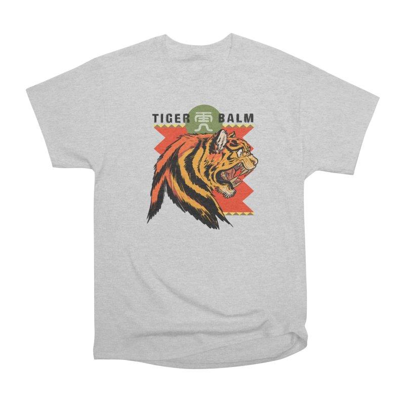 Tiger Balm Men's T-Shirt by Erica Fails at Merch