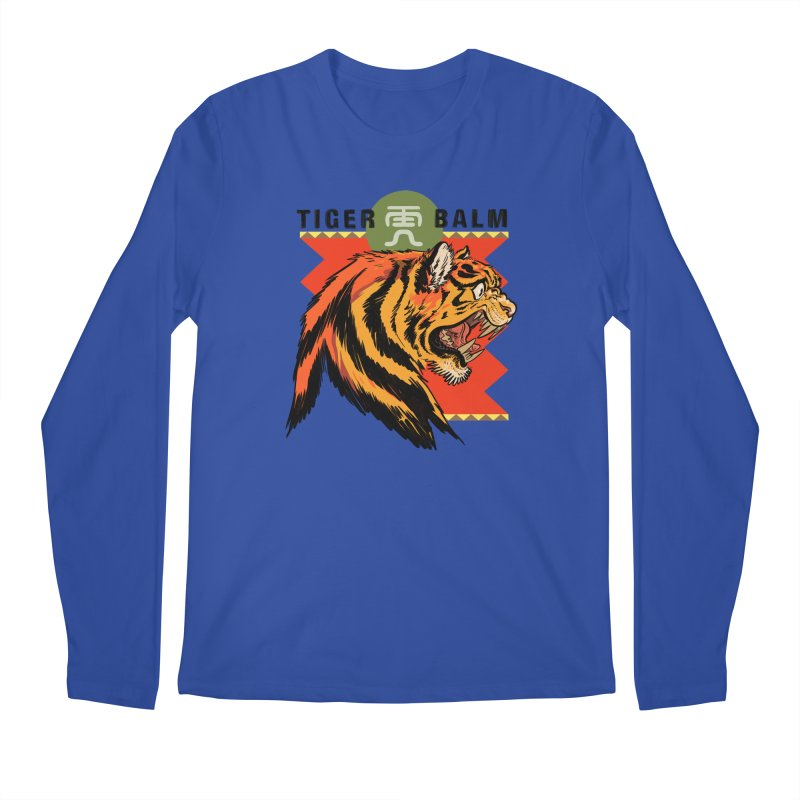 Tiger Balm Men's Longsleeve T-Shirt by Erica Fails at Merch