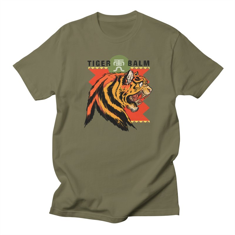 Tiger Balm Men's T-Shirt by Erica Fails at Merch