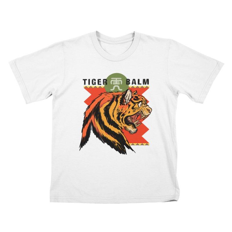 Tiger Balm Kids T-Shirt by Erica Fails at Merch