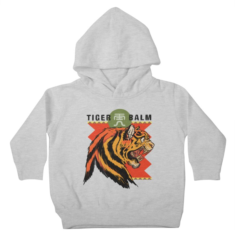 Tiger Balm Kids Toddler Pullover Hoody by Erica Fails at Merch