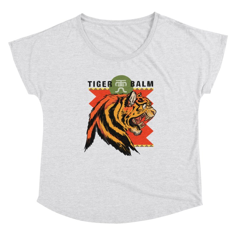 Tiger Balm Women's Scoop Neck by Erica Fails at Merch