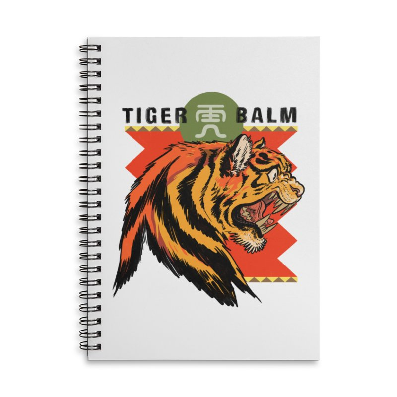 Tiger Balm Accessories Notebook by Erica Fails at Merch