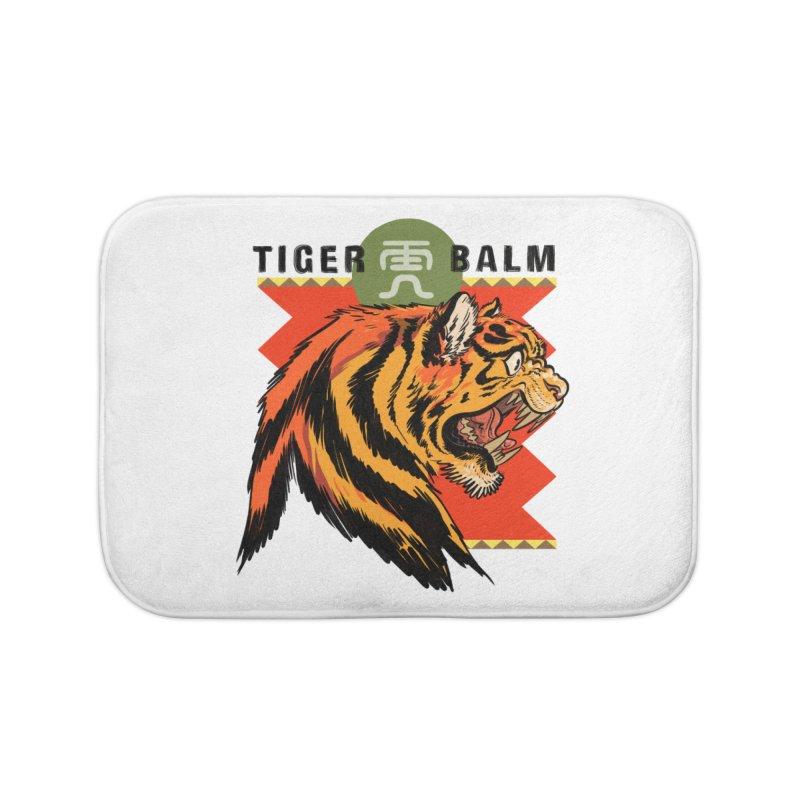 Tiger Balm Home Bath Mat by Erica Fails at Merch