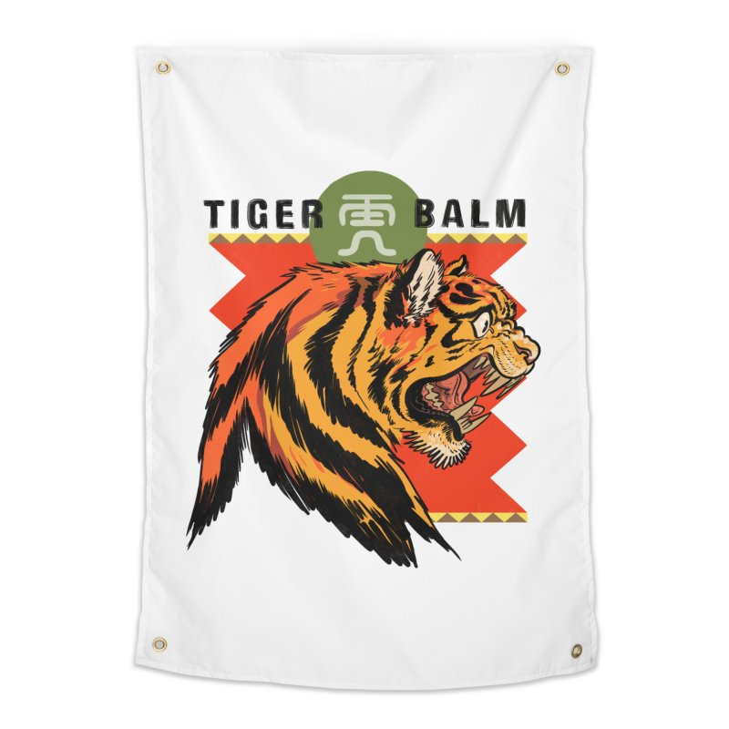 Tiger Balm Home Tapestry by Erica Fails at Merch