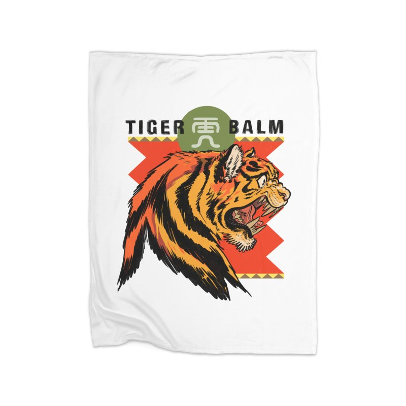 Tiger Balm Home Blanket by Erica Fails at Merch