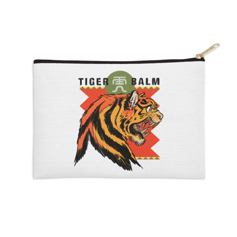 Tiger Balm Accessories Zip Pouch by Erica Fails at Merch