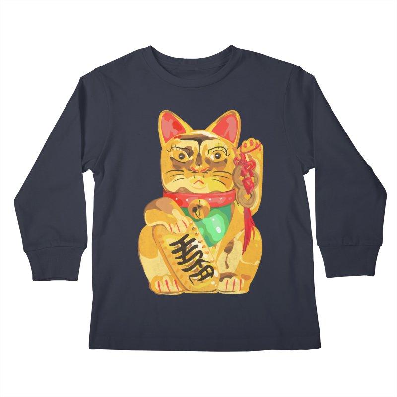 An auspicious shirt Kids Longsleeve T-Shirt by Erica Fails at Merch