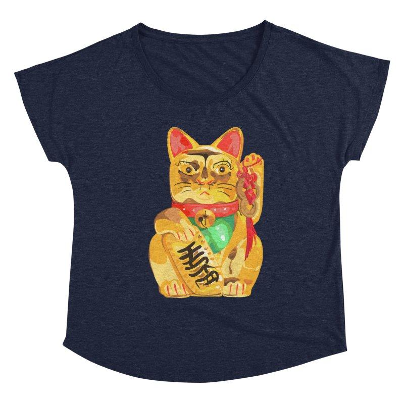 An auspicious shirt Women's Scoop Neck by Erica Fails at Merch