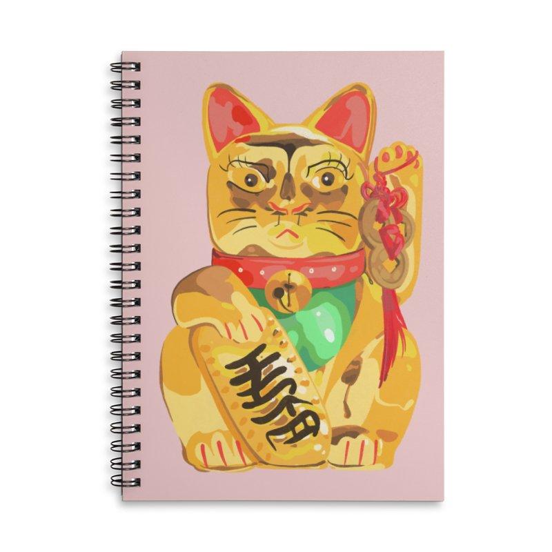 An auspicious shirt Accessories Notebook by Erica Fails at Merch