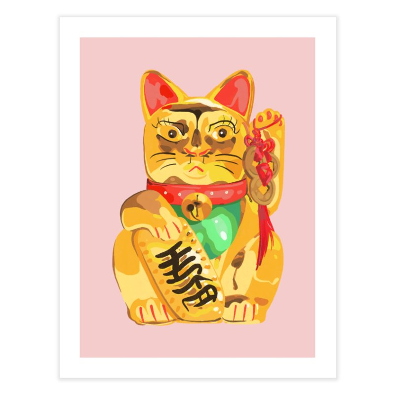 An auspicious shirt Home Fine Art Print by Erica Fails at Merch