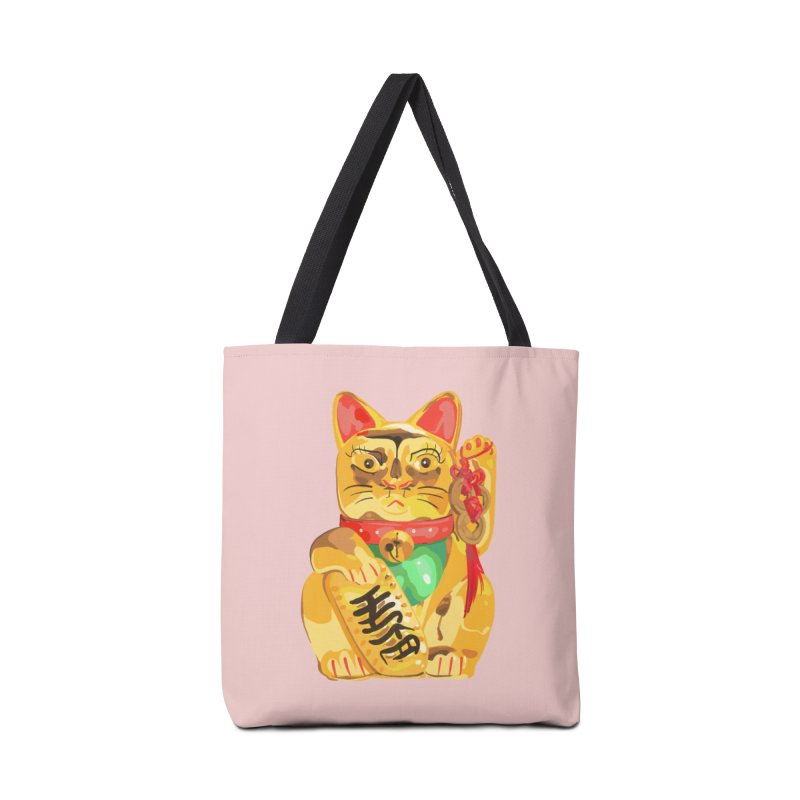 An auspicious shirt Accessories Bag by Erica Fails at Merch