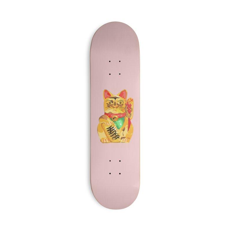 An auspicious shirt Accessories Skateboard by Erica Fails at Merch