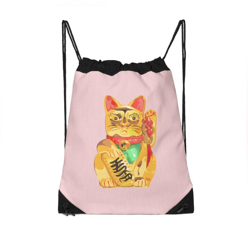 An auspicious shirt Accessories Bag by Erica Fails at Merch