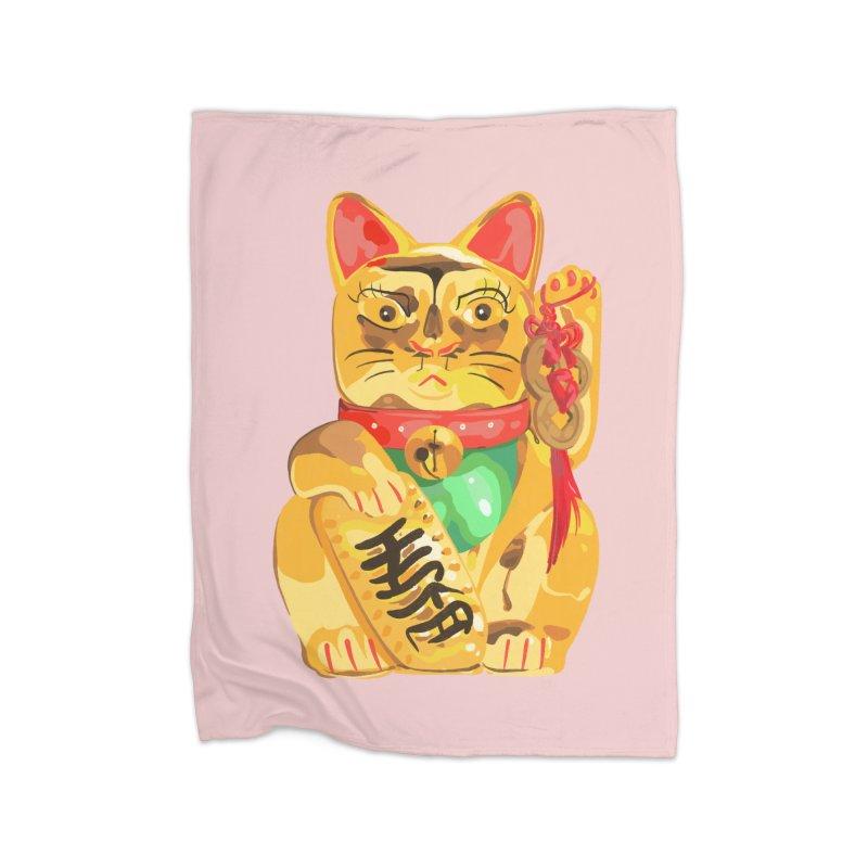 An auspicious shirt Home Blanket by Erica Fails at Merch