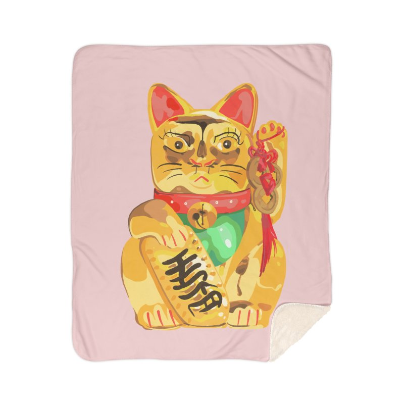 An auspicious shirt Home Blanket by Erica Fails at Merch