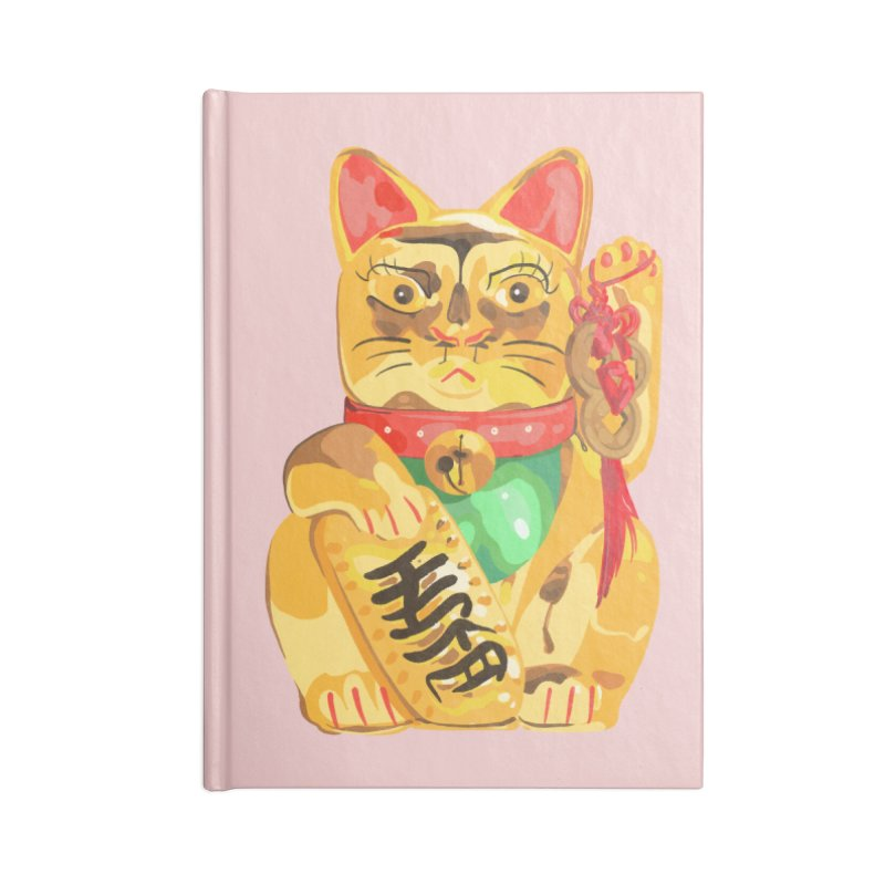 An auspicious shirt Accessories Notebook by Erica Fails at Merch