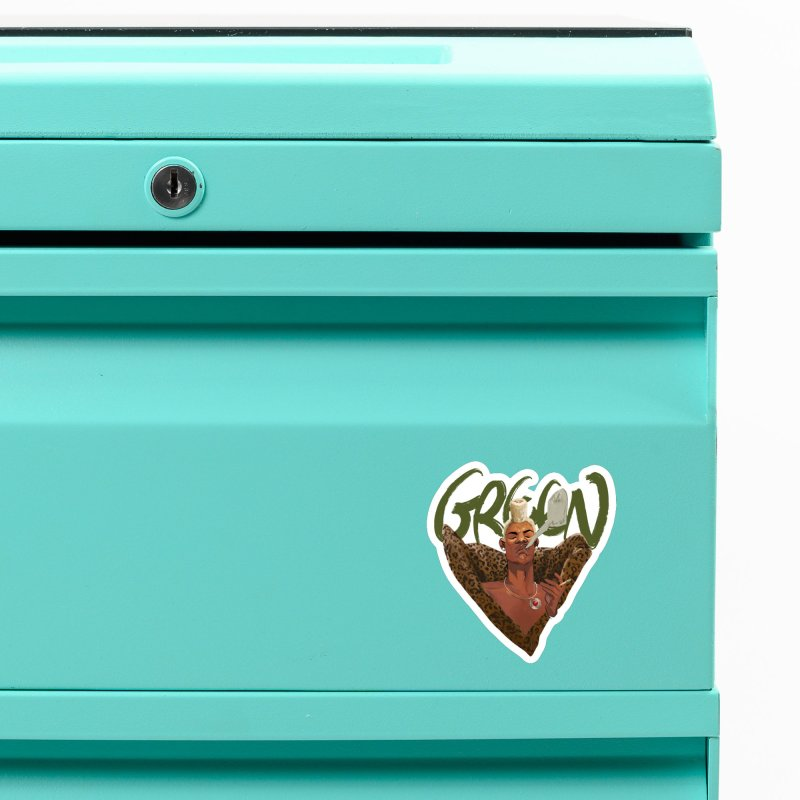 GREEN Accessories Magnet by Erica Fails at Merch
