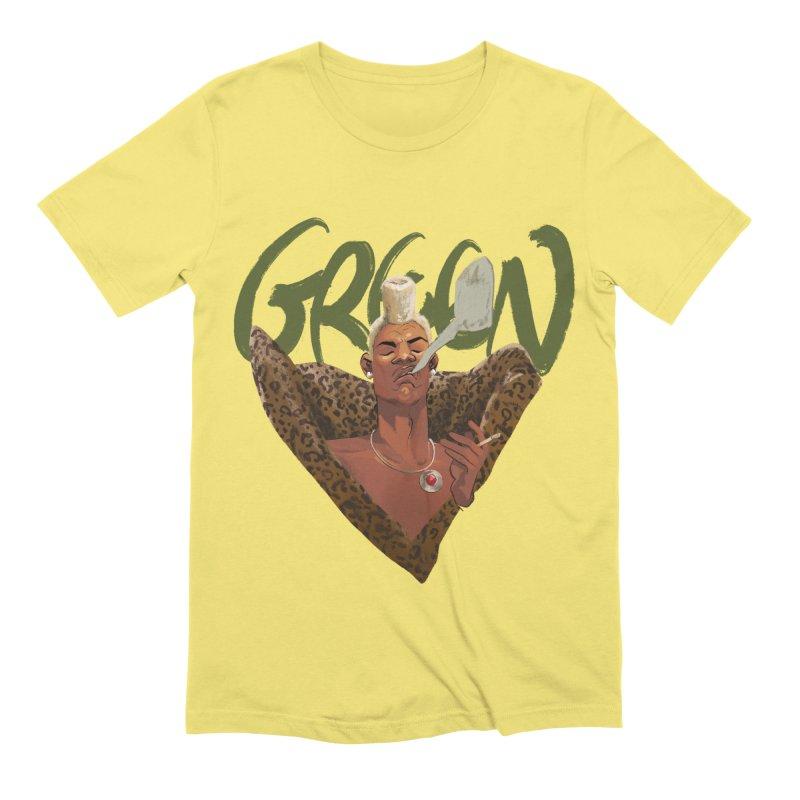GREEN Men's T-Shirt by Erica Fails at Merch