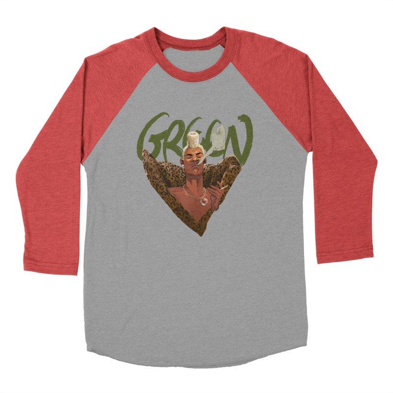GREEN Men's Longsleeve T-Shirt by Erica Fails at Merch