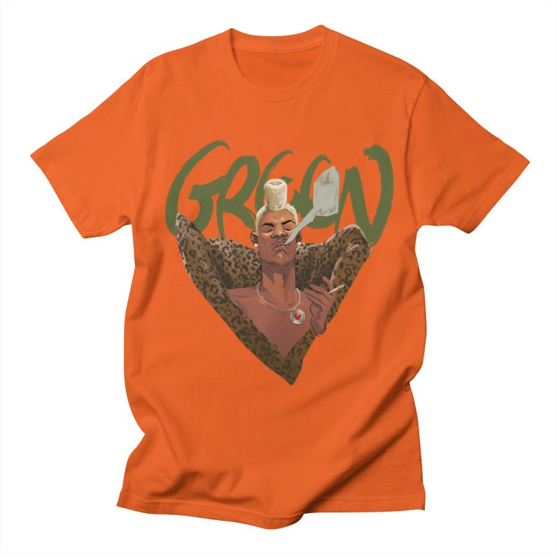 GREEN Men's T-Shirt by Erica Fails at Merch