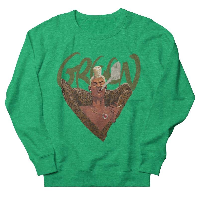 GREEN Women's Sweatshirt by Erica Fails at Merch