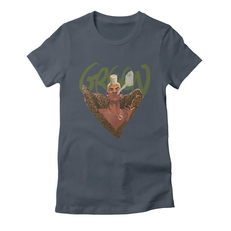 GREEN Women's T-Shirt by Erica Fails at Merch