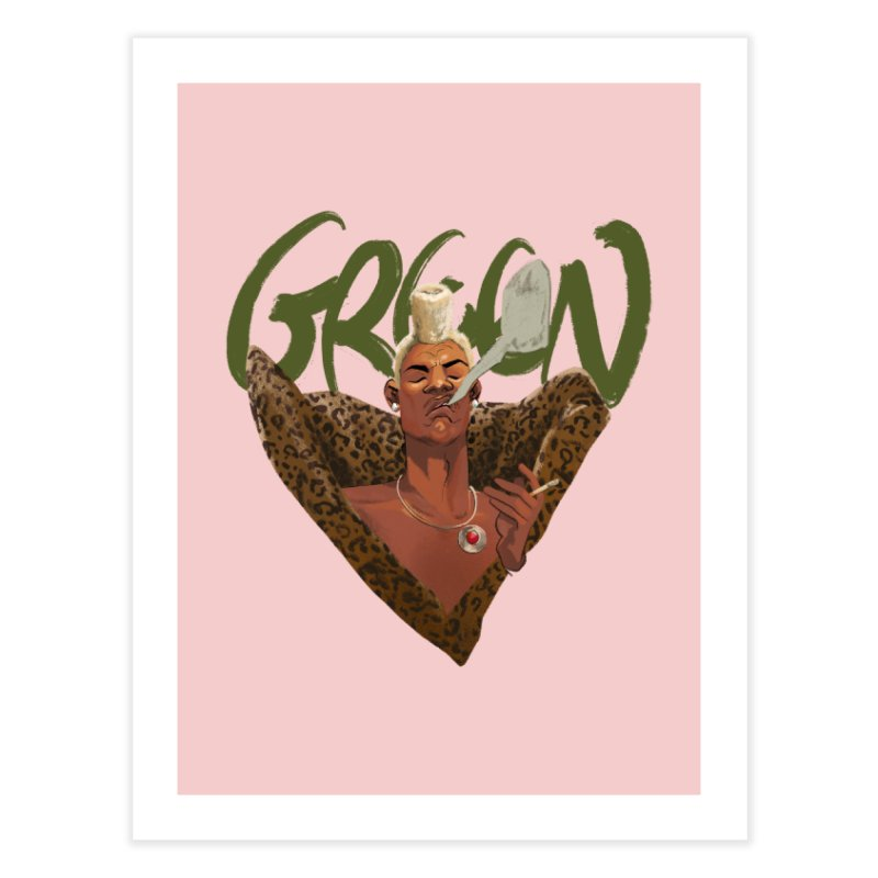 GREEN Home Fine Art Print by Erica Fails at Merch