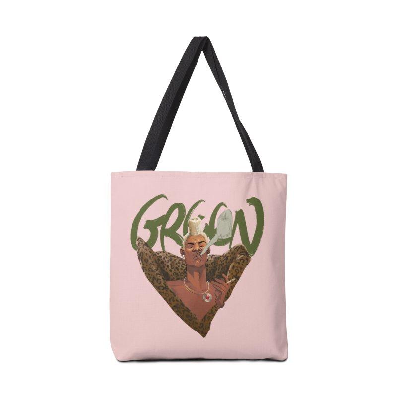 GREEN Accessories Bag by Erica Fails at Merch