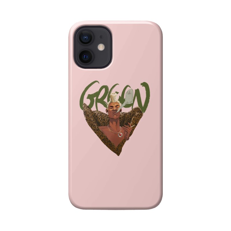 GREEN Accessories Phone Case by Erica Fails at Merch