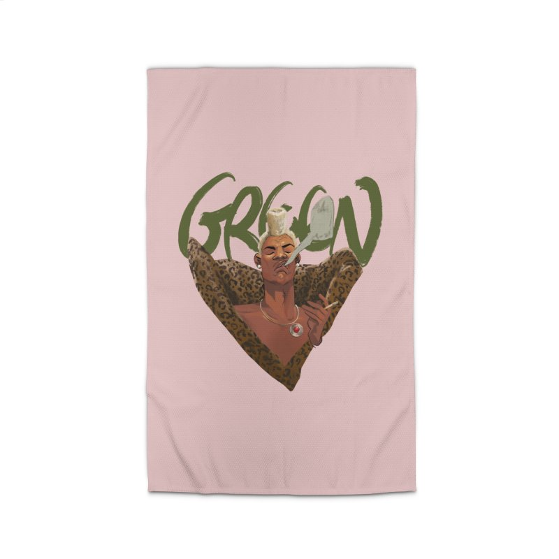 GREEN Home Rug by Erica Fails at Merch